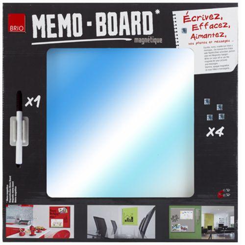 Memo board miroir 40 x 40 cm