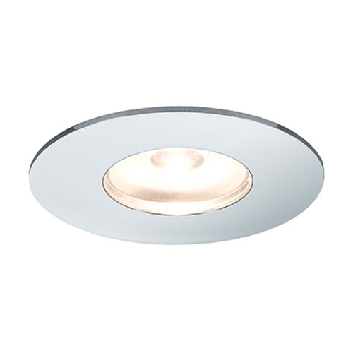 Spot encastrable Paulmann mini rond LED 5 x 1 W chrome et aluminium