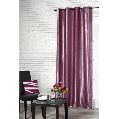 Verduisterend gordijn Cosy polyester violet 140 cm x 260 cm
