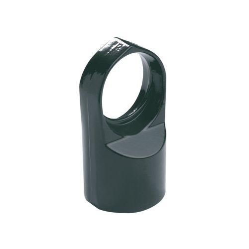 Têtes support de lisse alu vert 48/42mm