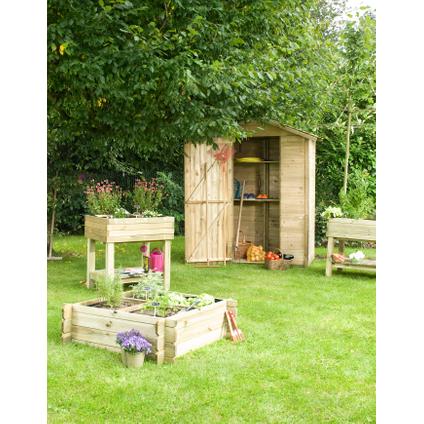 Armoire de jardin Forest Style 'Leo' bois 220 x 150 cm