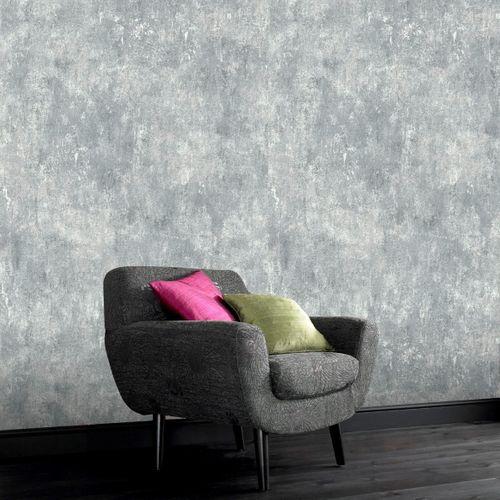 Papier peint intissé DecoMode Concrete gris