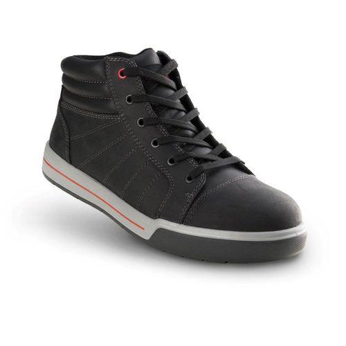 Chaussures de sécurité hautes Busters 'Vigo' S3 SRC gris/noir T40