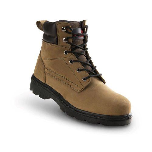 Chaussures de sécurité hautes Busters 'Nevada' S3 SRC brun T43