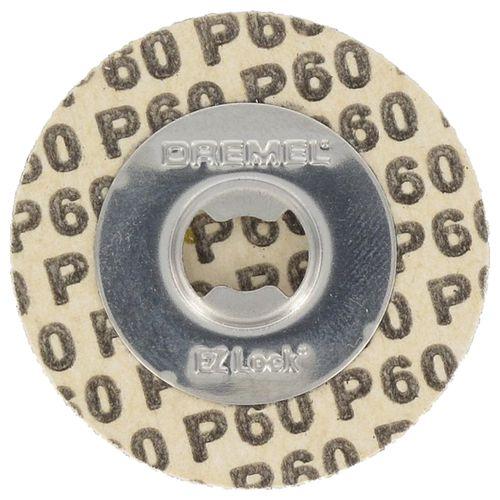 Dremel schuurschijf SpeedClic S411JA K60 30mm – 6 stuks