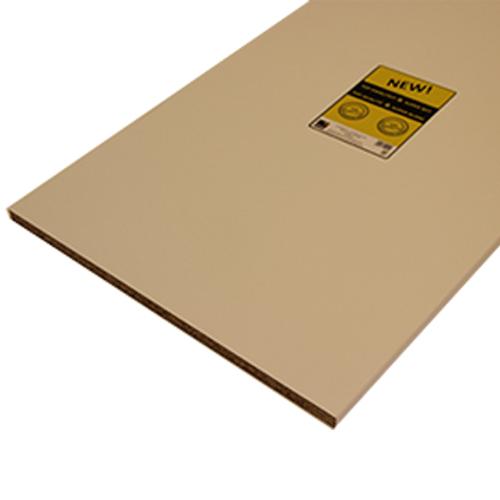 Sencys meubelpaneel 'Super' wit 250x40cm