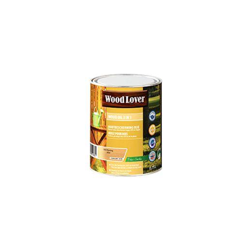 Huile de protection Wood Lover 'Wood Oil 3 en 1' miel 750ml