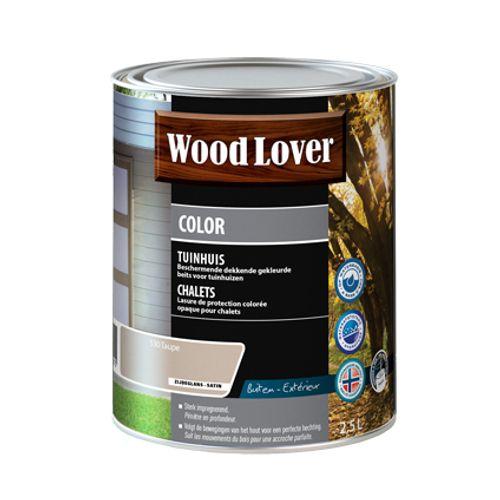Lasure Wood Lover 'Color Chalet' taupe 2,5L