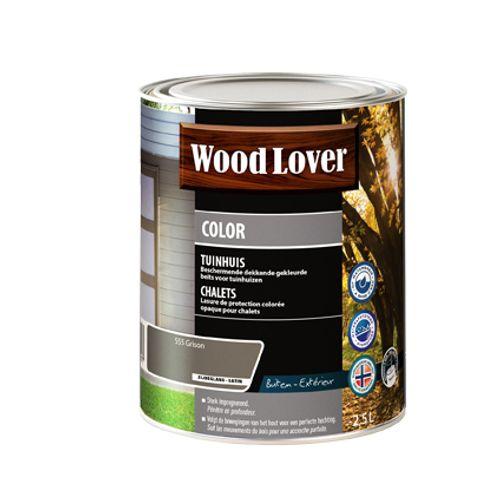 Lasure Wood Lover 'Color Chalet' grison 2,5L