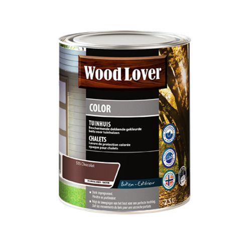 Lasure Wood Lover 'Color Chalet' chocolat 2,5L