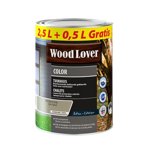 Lasure Wood Lover 'Color Chalet' gris fjord 3L