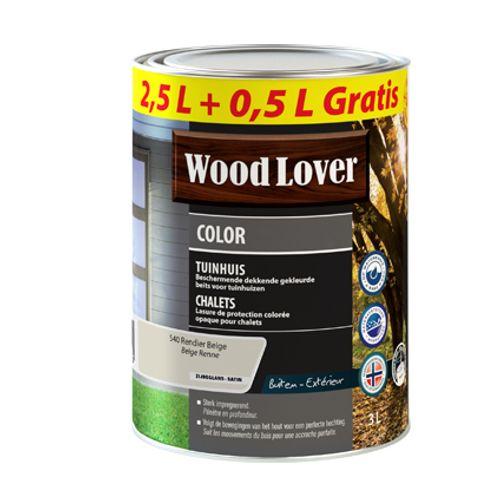 Lasure Wood Lover 'Color Chalet' beige renne 3L