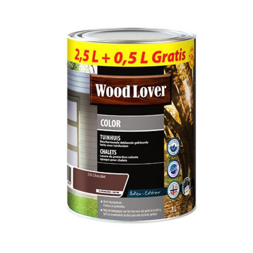 Lasure Wood Lover 'Color Chalet' chocolat 3L