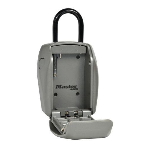 Master Lock mini kluis met beugel zink