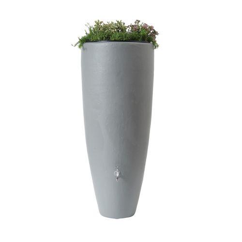 Garantia regenton bloembak 2 in 1 300 ltrgrijs
