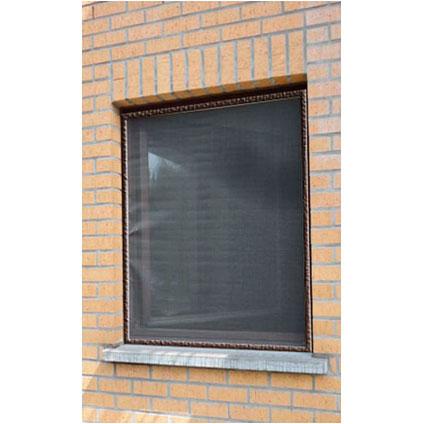 Moustiquaire pour fenêtre 'Louisiana' brun 1,2 x 1 m