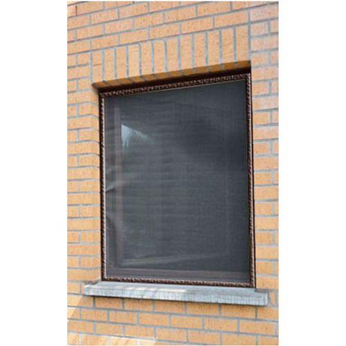 Moustiquaire pour fenêtre 'Louisiana' brun 1,5 x 1,2 m