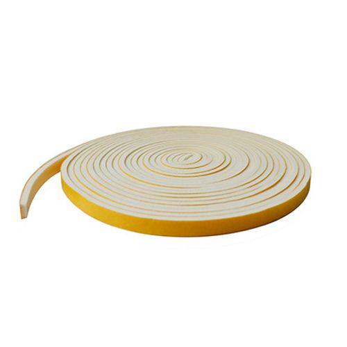 Bas de porte Sencys PVC blanc 6m