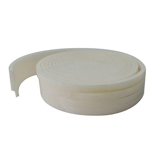 Bas de porte Baseline polyuréthane blanc 20m