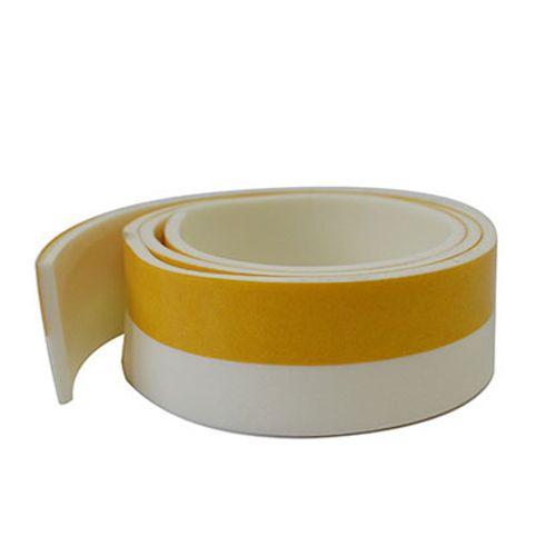 Bas de porte Sencys PVC blanc 1mx38mm