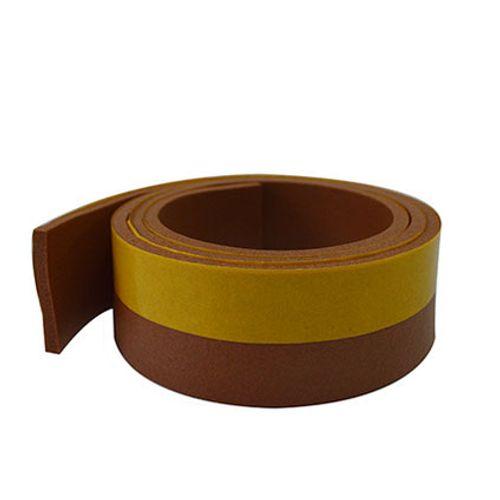 Bas de porte Sencys PVC brun 1mx38mm