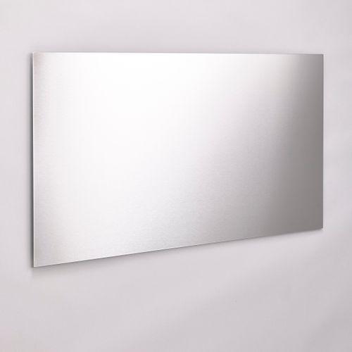 Mottez spatscherm keuken 50x90cm metaal grijs