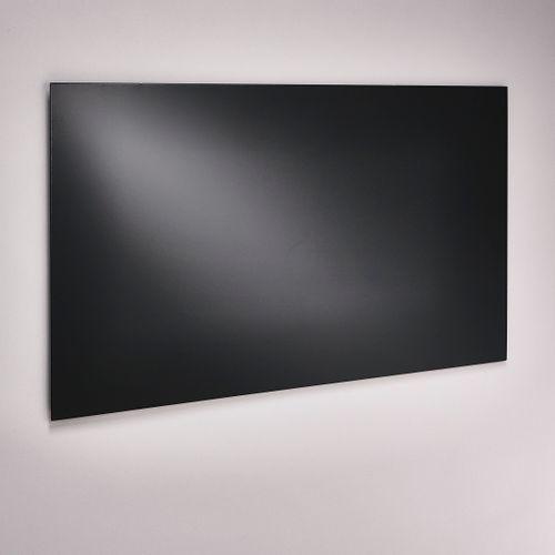 Mottez spatscherm keuken 50x90cm metaal zwart