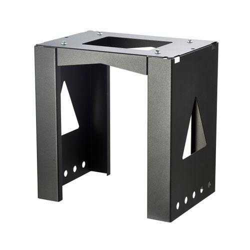 Support pour boîte aux lettres Allux 40 x 38 x 23 cm acier laqué poudré