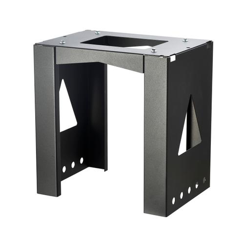 Allux steun voor brievenbus 40 x 38 x 23 cm gepoederlakt staal