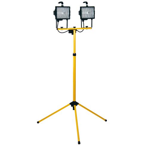 Profile werklamp op statief halogeen 2x400W