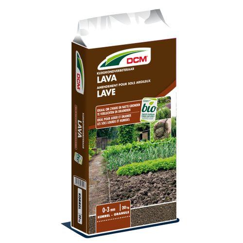 Amendement pour sols argileux DCM Lave 20kg