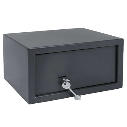 Sencys kluis met sleutel 31 x 25 x 16cm