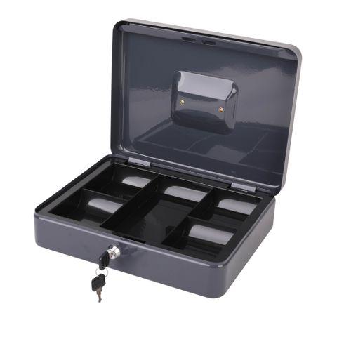 Coffre à monnaie Sencys 5 compartiments 30 x 24 x 9 cm