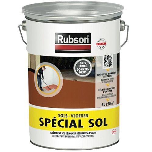 Rubson speciaal vloeren donker grijs 5L