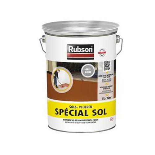 Rubson vloercoating 'Speciaal Vloeren' grijs 5L