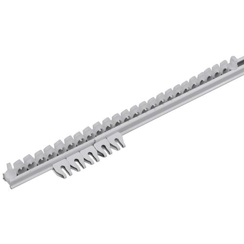 Complete rail 'Plus' wit 400 cm