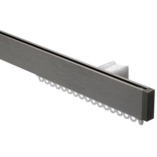 Sencys gordijnrail set Design RVS 150cm