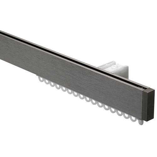 Sencys gordijnrail set Design RVS 200cm