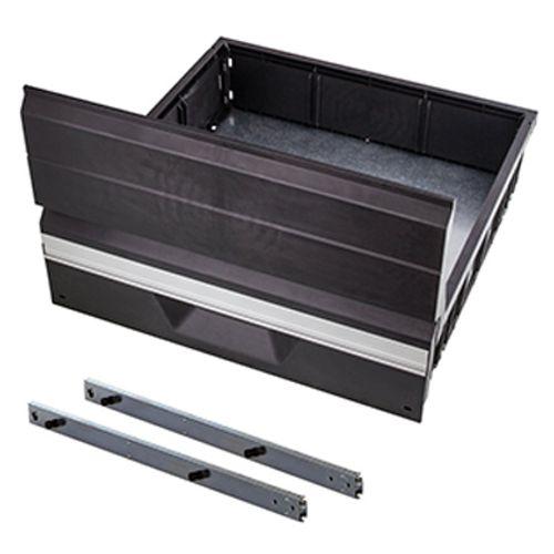 Kit tiroirs coulissants Wolfcraft 'L' 25 kg