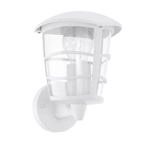 Eglo wandlamp buiten 'Aloria' wit aluminium