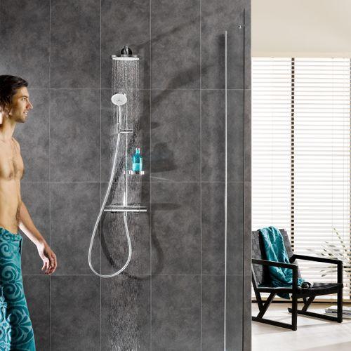 Revêtement mural Dumaplast 'Dumawall+' PVC gris mystique foncé 5mm