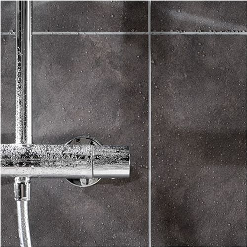 Dumaplast schroten Dumawall+ PVC mystiek donker grijs 5 mm