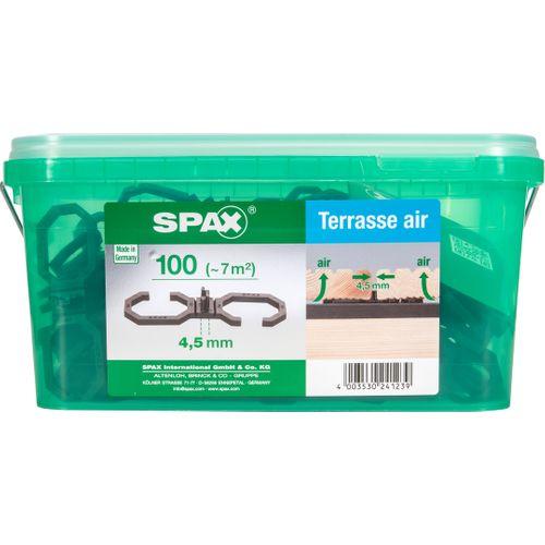 Spax terrasverhoging 'Air HKB L' 4,5 mm - 100 stuks