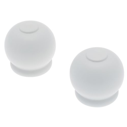 Embout Decomode 'Nature apple' bois blanc 28 mm - 2 pcs
