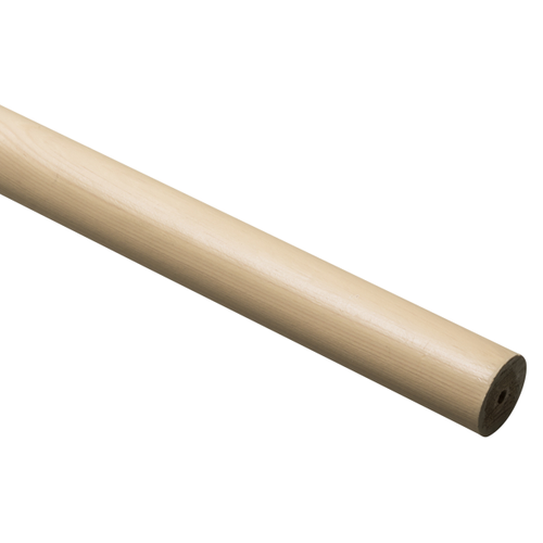 Decomode gordijnroede beuk 240 cm x 28 mm