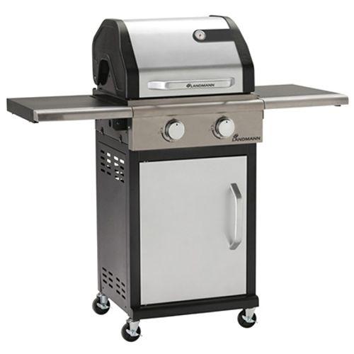 Landmann gasbarbecue Triton PTS2.0 7kW zilver