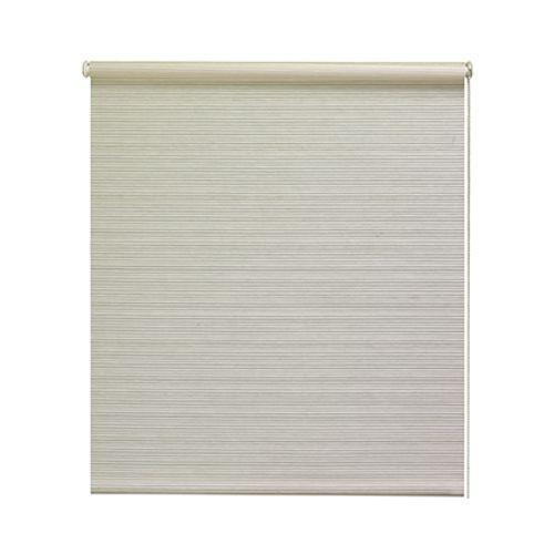 Decomode rolgordijn lichtdoorlatend reliëf wit 180 x 190 cm