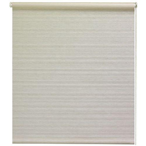 Store enrouleur Decomode tamisant relief blanc 210 x 190 cm