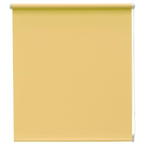 Decomode rolgordijn lichtdoorlatend geel 60 x 190 cm