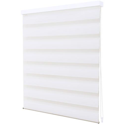 Store jalousie Intensions 'Luxe' tamisé uni blanc 60 x 210 cm